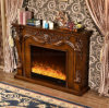 Antique Hotel Furniture LED Flame Heater Electric Fireplace (331B)