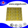 2 Layer Fr4 1.6mm PCB Board with Yellow Soldermask