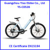 2016 Cheap Electric Bicycle with Ce / City Electric Bike / Aluminium Alloy Strong City E Bike