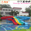 Hot and Cheap Selling Amusement Park Used Fiberglass Water Slide for Sale