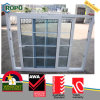 Double Glazed Windows with Grill Design for Sliding Window
