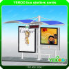 Outdoor Solar Energy Advertising Bus Stop Shelter