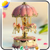 Merry-Go-Round Dream Resin Carousel Music Box