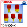 Solar LED Safety Warning Flashing Light