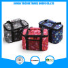 Beautiful Cartoon Animal Printed 600d Polyester Cooler Bag