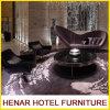 Purple Lounge Sofa Set Design Idea for Hotel Lobby