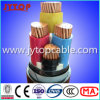 0.6/1kv 4-Cores Copper Cable with PVC Insulated, Steel Tape Armored
