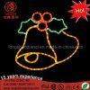 LED Rope Light Motif Jingle Bells Christmas Decorative Lights for Holiday