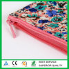 Organic Cotton Zipper Pouch with Full Color Printing Wholesale