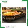 Supermarket Island Fruits Vegetables Display Racks