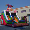 Inflatable Fun Clown Slide