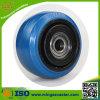 100mm Elastic Blue Rubber Wheel