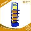 Pop up Wooden Exhbition Floor Panel Umbrella Book Brochure Display Stand for POS
