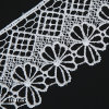 6.5cm Embroidery Lace Trimming Embroidered Lace Trim with Outstandig Design