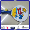 China Hot Sale Custom Wood Beach Racket