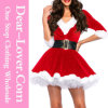 2016 Fashion Xmas Santa Sexy Christmas Dance Costume