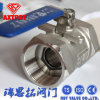 NPT Thread Ss 1PC Rb Floating Ball Valve