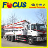 52m Mobile Concrete Pump Truck with Boom