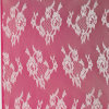 Flower Design Lace Fabric