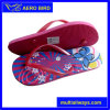 Colorful Lovely Print Summer Girl PE Flip Flops (15H007)