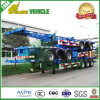 2 Axle 20 Feet 30tons Skeleton Frame Skeletal Container Semi-Trailer