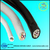 CAT6 Copper Core PVC Insulated Flexible Control Wire / Cable