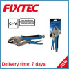 "Fixtec Hand Tool 10""250mm CRV Portable Curved Jaw Lock Plier Cutting Plier"