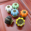 Colorful Ceramic Pumpkin Cheap Competitive Prices Cabinet Drawer Knobs