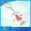 Cheap Customized Plastic PVC Rubber Key Ring for Promotion Gift (XF-KC-P40)
