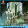 10mm Curved Tempered Glass for Bathroom or Building