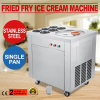 1 Pan 6 Buckets Ice Cream Maker Fried Ice Cream Machine for Yogurt