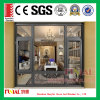 Aluminium Frame Casement Windows with Tempered Glass
