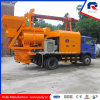 Truck Mounted Concrete Pump with Forced Mixer