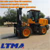 Ltma New 10 Ton Diesel Rough Terrain Forklift for Sale
