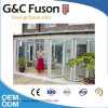 Modern New Style Aluminum Folding Door with Double Tempered Glass