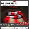 LED Visor Interior Police Warning Emergency Light