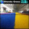 Outdoor Floor Decorative Rainbow Artificial Grass 20mm
