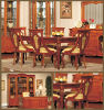 Casa Series Home Furniture, Dining Room Furniture, Dining chairs (TM-DA855-D)
