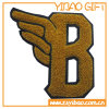 Embroidery Custom Logo Fuzzy Patch for Clothing (YB-pH-13)