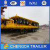 Container Semi Trailer for Loading One 40FT or Two 20FT Containers with 12 Twisted Locks