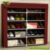 Standing Fabric Multifunction Large Multilayer Storage Shoe Rack
