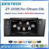 2 DIN Auto Radio for Citroen C4l Car DVD GPS Player