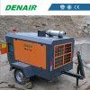 7 Bar 265 Cfm Cummins Powered Mining Air Compressor on 2 Wheels