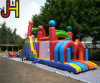 Outdoor Commercial Inflatable Obstacle Course for Sale