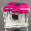 Acrylic Preserved Fresh Flower Box for Roses