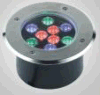 304 Stainless Steel IP67 RGB LED Underground/ LED Inground Light