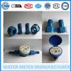 Black Nylon Shell Single Jet Household Flow Water Meter
