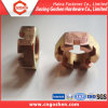 Zinc-Plated Carbon Steel Hex Slotted Nut/ Castle Nut DIN935