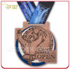 2015 Quebec Open Judo Customized Antique Copper Metal Medallion