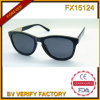 Fx15124 Half Wood Frame Sunglasses